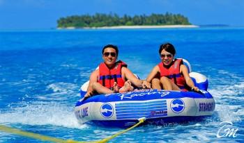 Angsana Velavaru Maldives Fun Bed