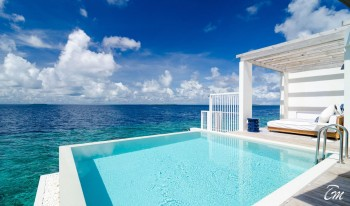 Amilla Fushi Resort And Residence Maldives Water Villa Deck