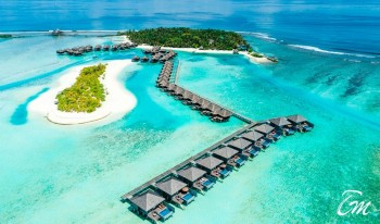 Anantara Veli Maldives Resort And Spa Aerial View