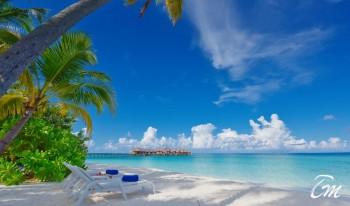 Angaga Island Resort and Spa Maldives - White beach