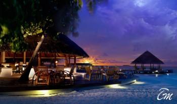 Angsana Ihuru Resort And Spa Maldives - Restaurant