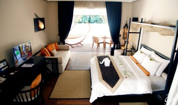 Ayada Maldives Garden Villa Bed Room
