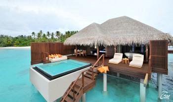 Ayada Maldives Ocean Villa Exterior View