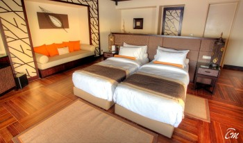 Ayada Maldives Royal Ocean Villa Bed Room