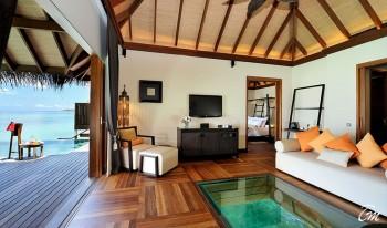 Ayada Maldives Villas Sunset Ocean Suite Interior