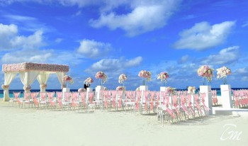 Banyan Tree Vabbinfaru Wedding Venue Arrangement