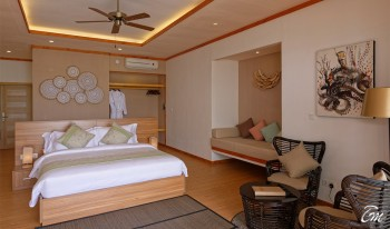 Brennia Kottefaru Maldives Beach Pool Villa Bedroom
