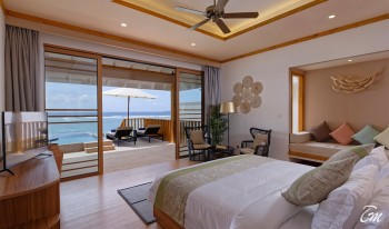 Brennia Kottefaru Maldives Water Pool Villa Bedroom
