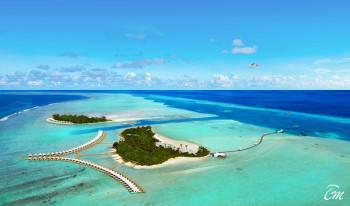 Cinnamon Hakuraa Huraa Maldives - Aerial View