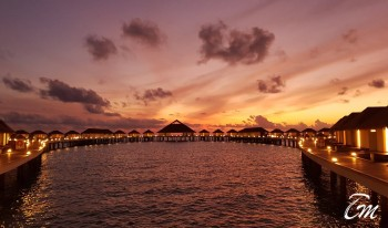 Cinnamon Velifushi Maldives Over Water Villa Sunset View - New images