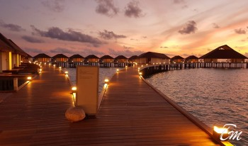 Cinnamon Velifushi Maldives Luxury  Over Water Villa Sunset - Latest images
