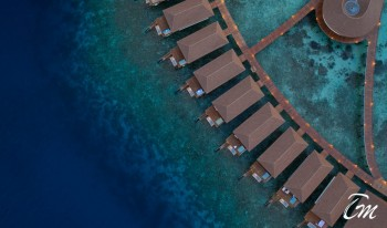 Cinnamon Velifushi Maldives Luxury Water Villas Aerial View
