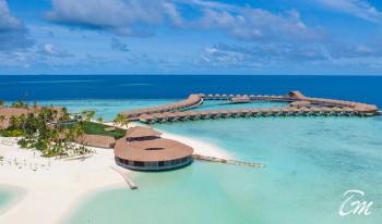 Cinnamon Velifushi Maldives Vah Main Restaurant Arial View