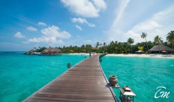 Constance Halaveli Maldives Water Villa Jetty