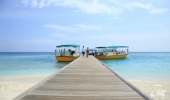 Embudu Village Maldives Arrival Jetty