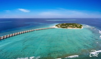 Emerald Maldives Resort And Spa Arial View