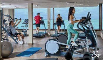 Hotel RIU palace Maldivas Gym