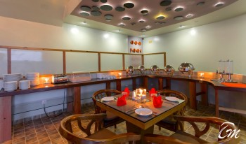 Kaani Village and Spa Maafushi Restaurant Interior