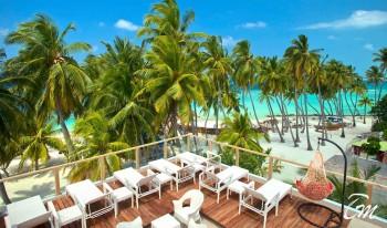 Kaani Beach Hotel Maafushi Balcony