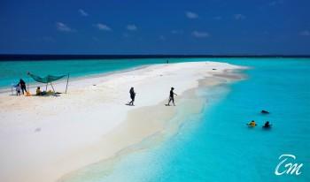 Kaani Beach Hotel Maafushi Maldives Sandbank