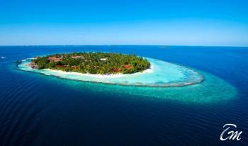 Kurumba Maldives Resort Aerial View