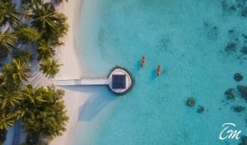 Kurumba Maldives Resort Wedding Venue Aerial