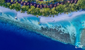 Lily Beach Resort and Spa Maldives Beach Aerial view