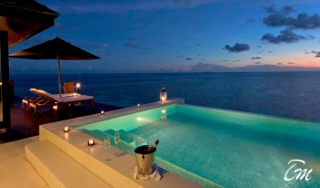 Sunset Water Villa With Pool At Lily Beach Resort And Spa