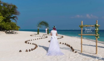 Malahini Kuda Bandos Resort Wedding