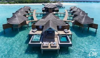 Merena Spa Arial View - Vakkaru Maldives