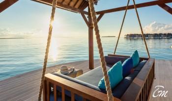 Movenpick Resort Kuredhivaru Maldives Over Water Villa