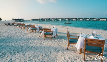 Movenpick Resort Kuredhivaru Maldives Beach Dining