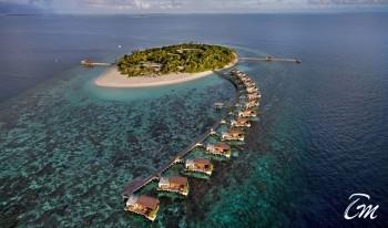 Park Hyatt Hadaha Maldives Arial View Picture