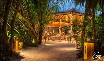 The Island Grill Entrance - Park Hyatt Hadahaa Maldives