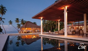 Pool Area Luxury Park Hyatt Resort Maldives