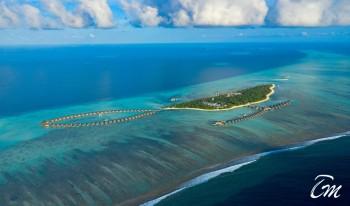 Pullman Maldives Maamutaa - Resort Aerial View