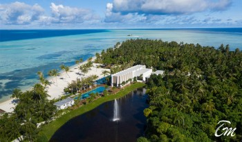 Pullman Maldives Maamutaa Island Aerial View Pictures