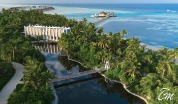 Pullman Maldives Maamutaa - Natural Lake Aerial View