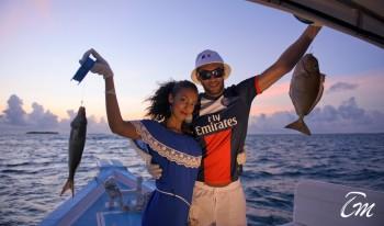 Royal Island Resort And Spa Night Fishing