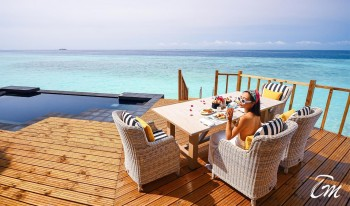 SAii Lagoon Maldives Over Water Pool Villa