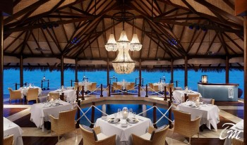 Taj Exotica Resort and Spa  Maldives  Deep End Restaurant