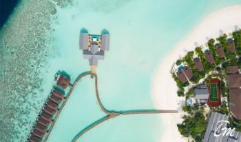 The Standard Huruvalhi Maldives - Aerial View
