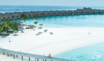 Vakkaru Maldives BEach Arial View