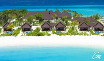 Varu by Atmosphere Maldives Beach Villas Aerial view