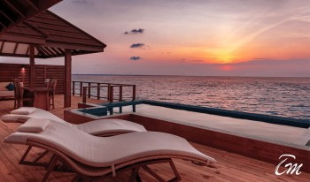 Varu - Atmosphere Maldives Water Suite Sunset