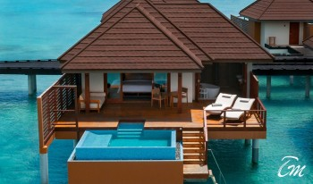 Varu - Atmosphere Maldives Water Villa With Pool Exterior