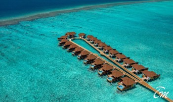 Varu - Atmosphere Maldives Arial View Water Villas