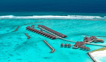 Varu by Atmosphere Maldives Jetty Aerial view
