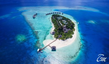 Adaaran Club Rannalhi Maldives Aerial View