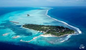Adaaran Select Hudhuranfushi Maldives Island Aerial View